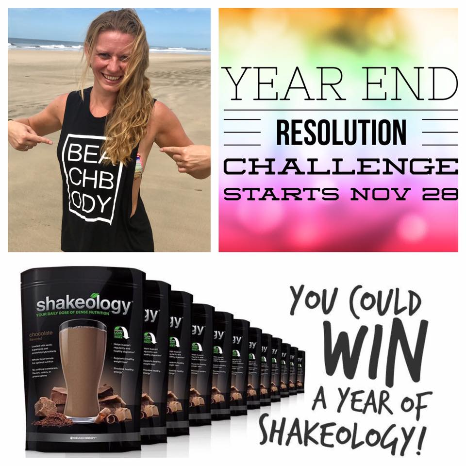 2016 Year End Resolution Challenge